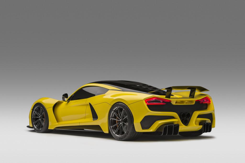 Hennessey mulls quad-turbo engine for Venom F5 hypercar