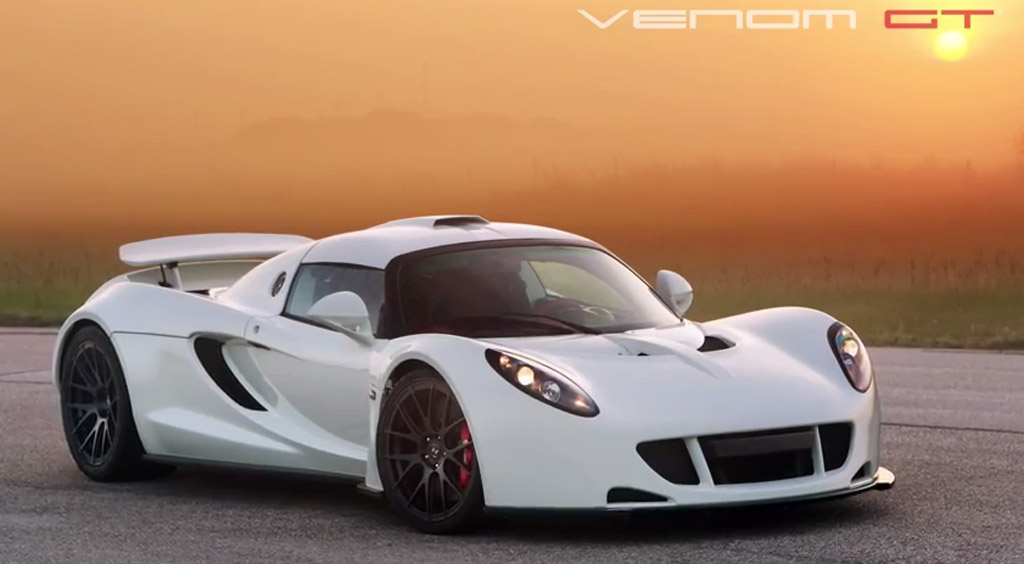 Hennessey Venom GT Prepares For Pebble Beach, First One In White: Video