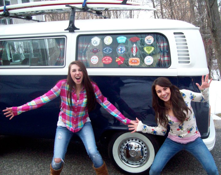 Toyota Diesel Pickup >> Girl's Brilliant Backside Wins Her VW Bus