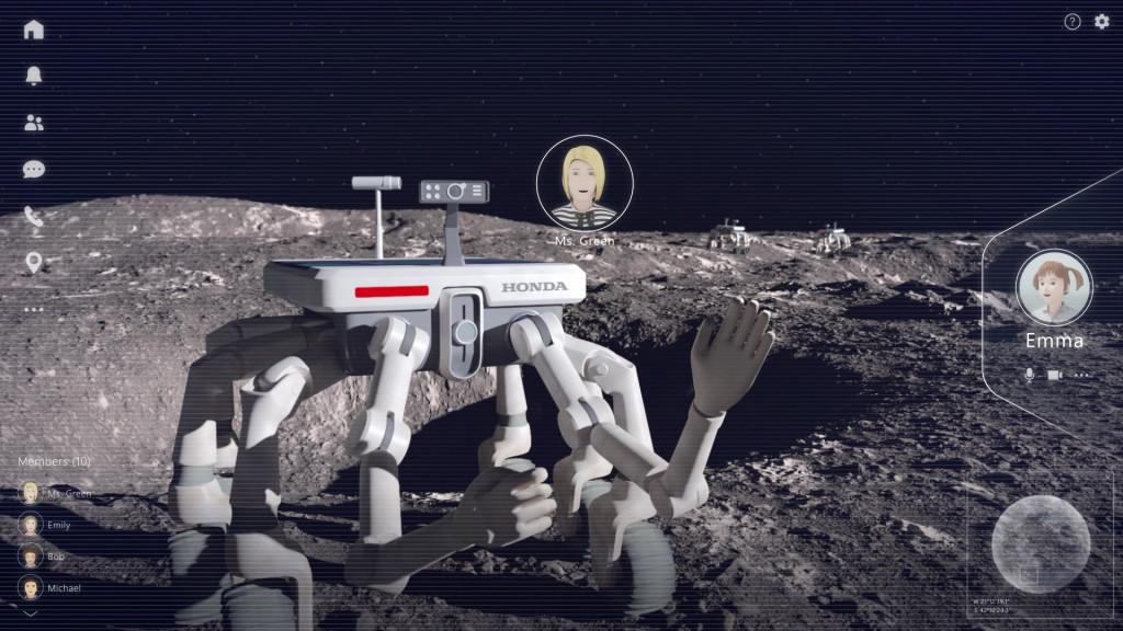 Honda avatar robot