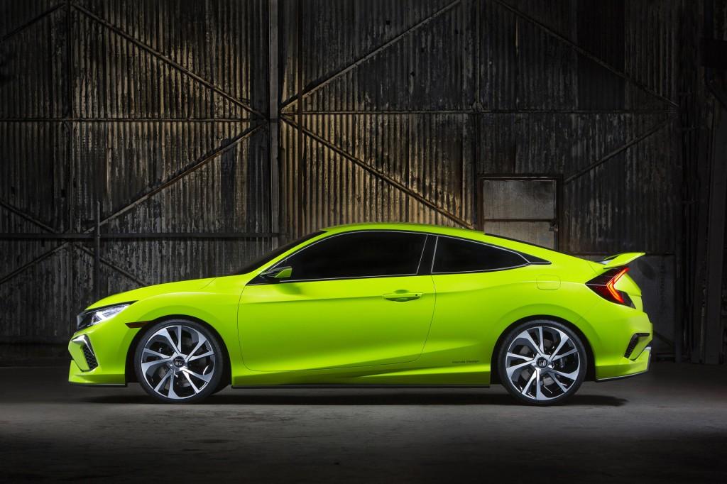 Image: Honda Civic Concept Live Shots, 2015 New York Auto Show ...