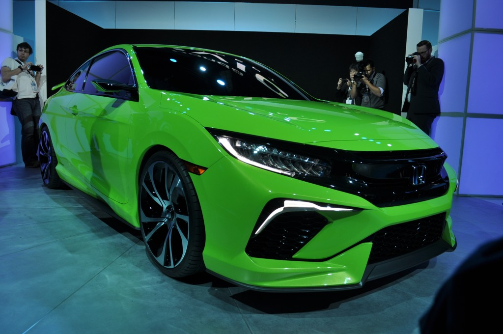 Honda Civic Concept is New York'-s Colored Spot, Previews the New ...