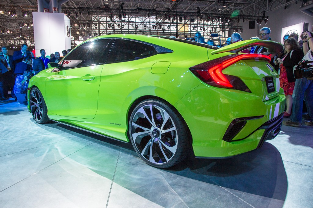 Image Honda Civic Concept Live Shots 2015 New York Auto