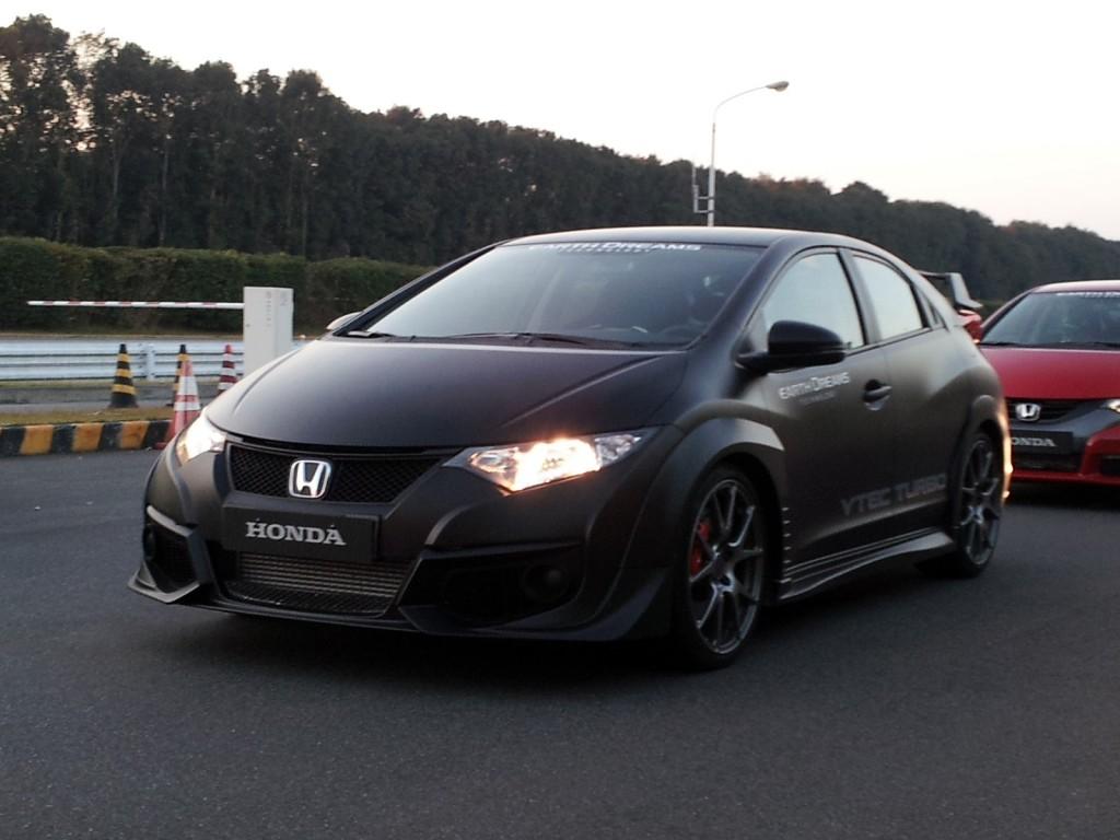Image Honda Civic Type R Prototype Honda Proving Ground