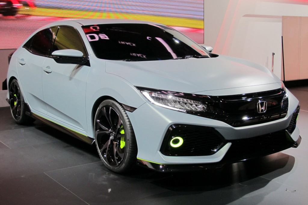 2017 Honda Civic Hatchback Previewed By Prototype