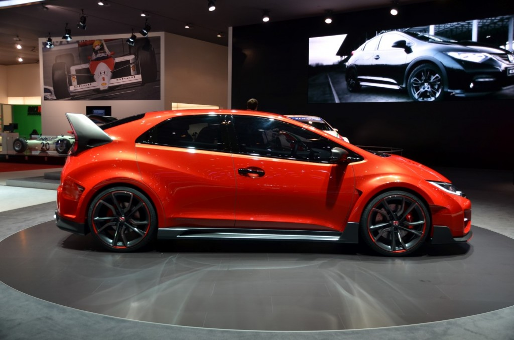2015 Honda Civic Type R Concept Revealed In Geneva Live Photos And