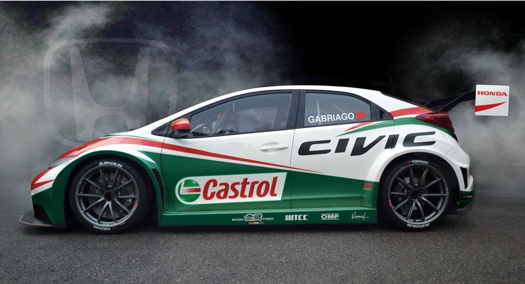 2013 Honda Civic WTCC Race Car