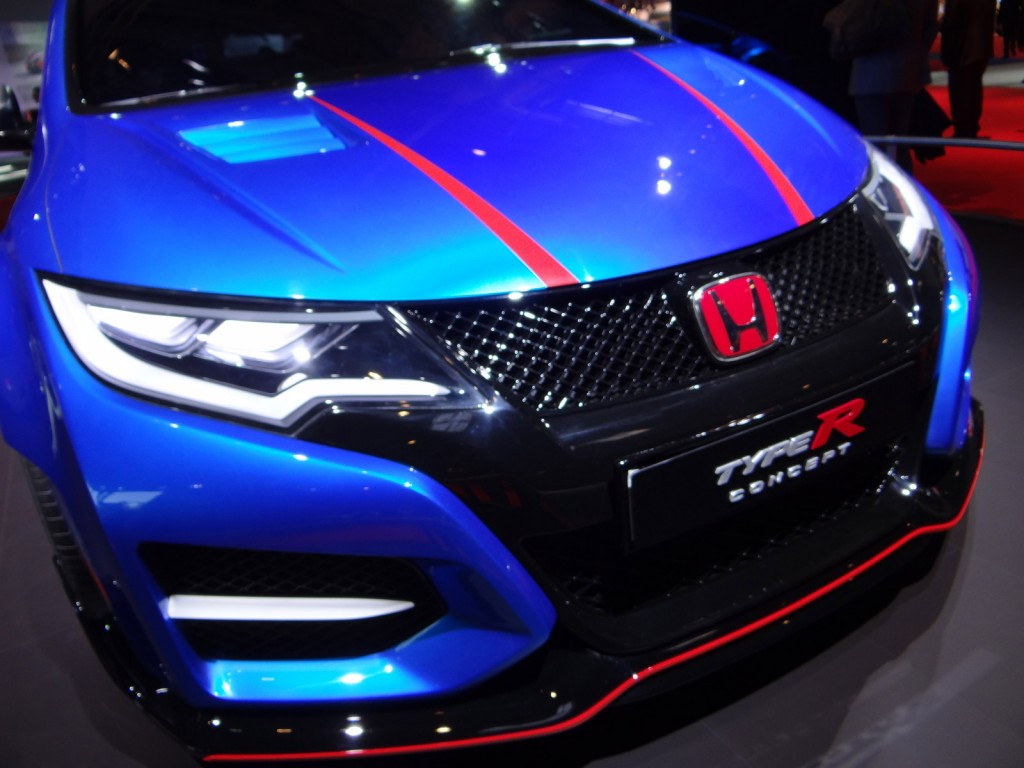 Image honda civic type r concept 2014 paris auto show for 2014 honda civic oil type