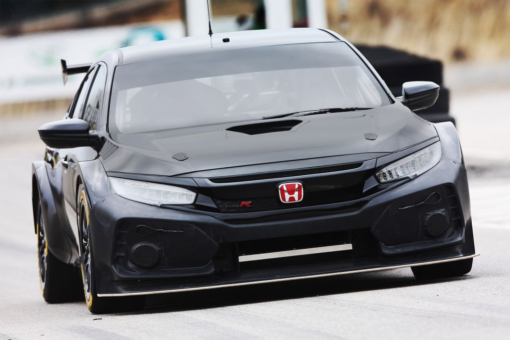 New Honda Civic Type R race car ready for British Touring Car Championship