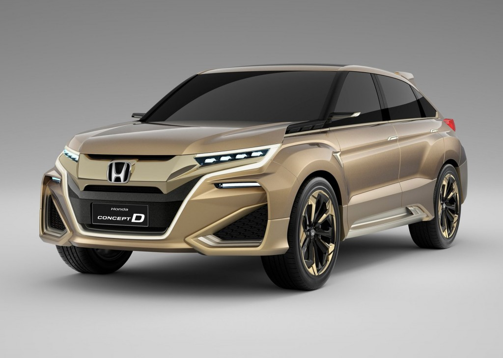 Honda Concept D Hints At Crosstour Comeback In China
