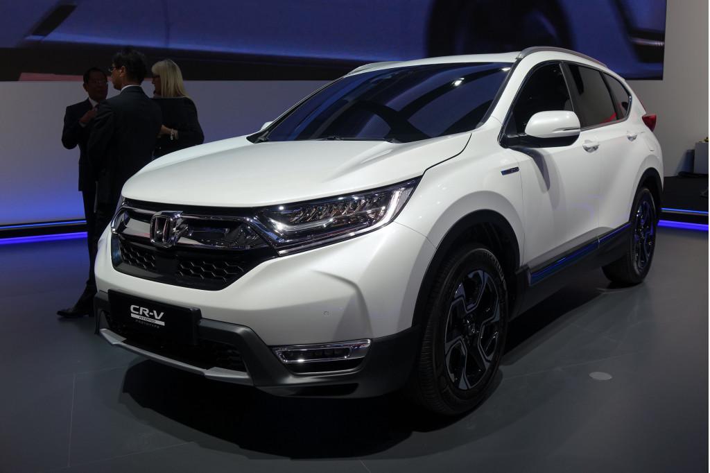 Honda Cr V Hybrid Prototype 2017 Frankfurt Auto Show