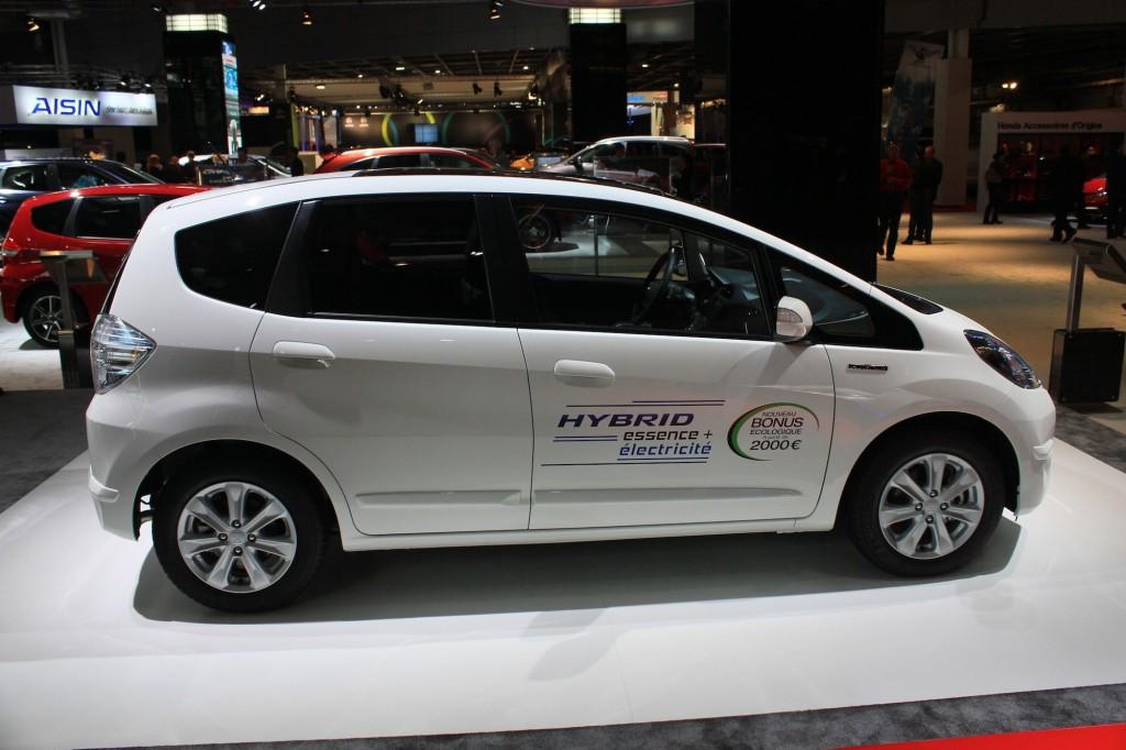 Image: Honda Fit (Jazz) Hybrid, 2012 Paris Auto Show, size ...