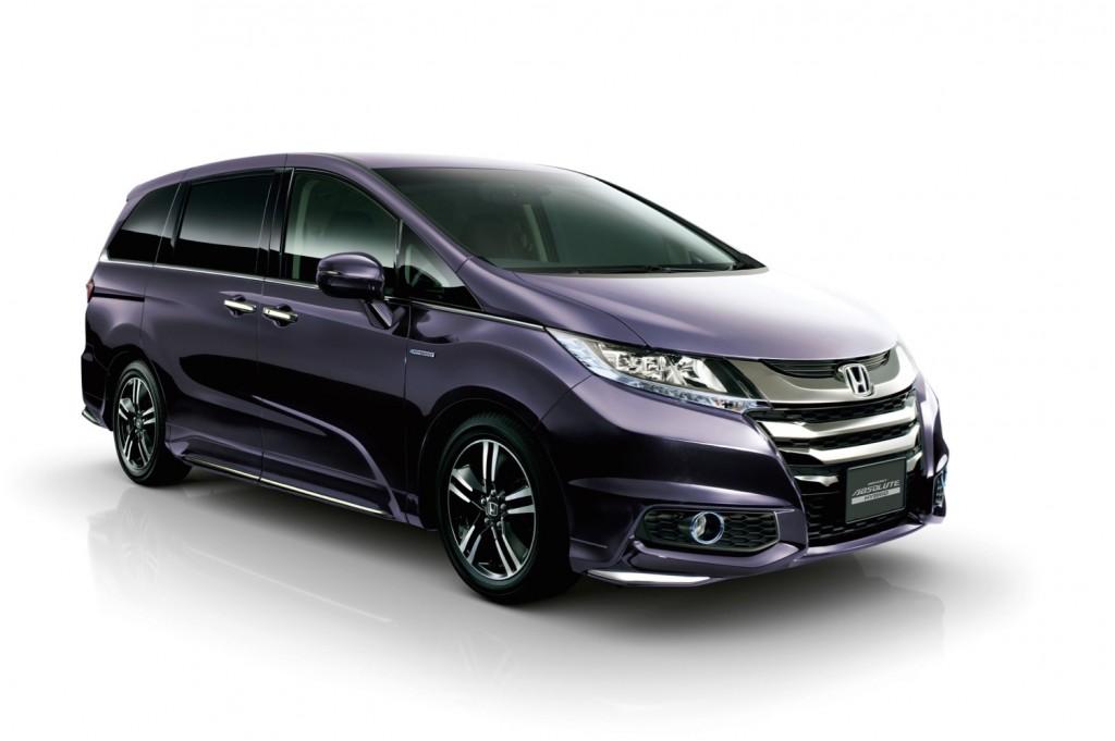 a4abaa672f Honda Hybrid Minivan On Sale In Japan