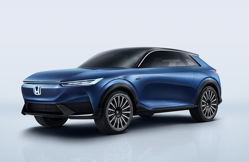 Honda electric SUV coupe for China previewed with concept