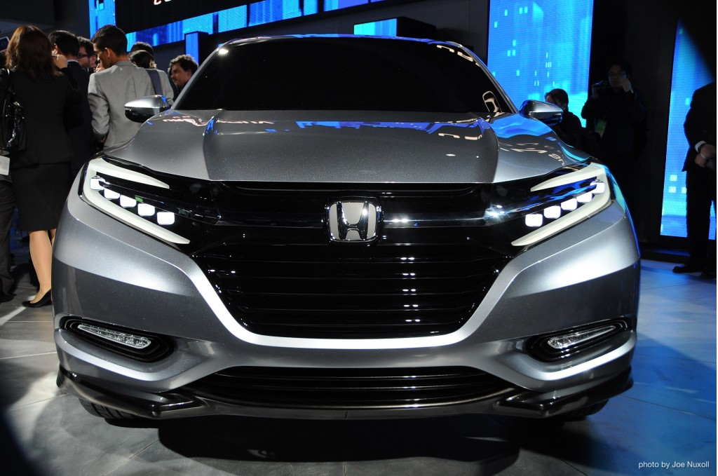 Honda Urban SUV Concept revealed at 2013 Detroit Auto Show