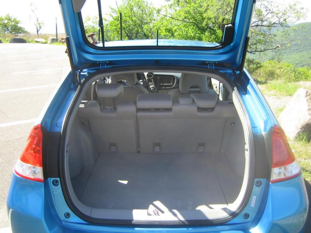 Image 2010 Honda Insight Rear Hatch Open Size 1024 X
