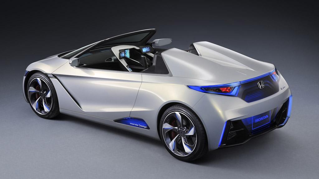 Delightful 2011 Honda EV STER Concept