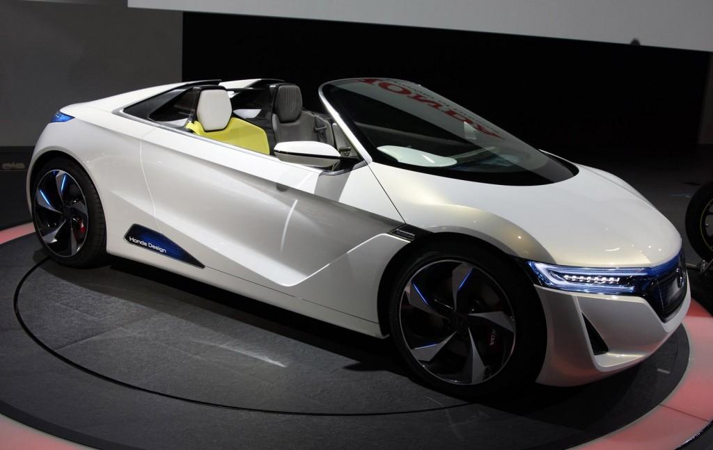 Superbe 2011 Honda EV STER Concept Live Photos