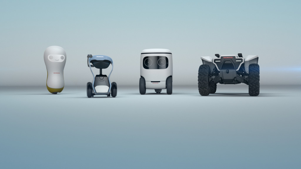Honda reveals four robot concepts at CES, including one for hugs