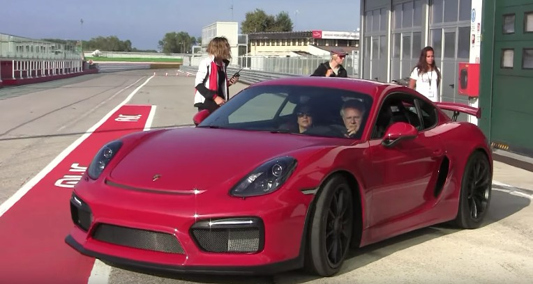 Horacio Pagani Is Quite The Porsche Fan