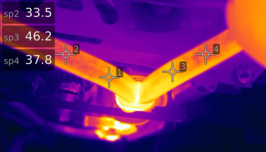 This is how hot your exhaust system can get