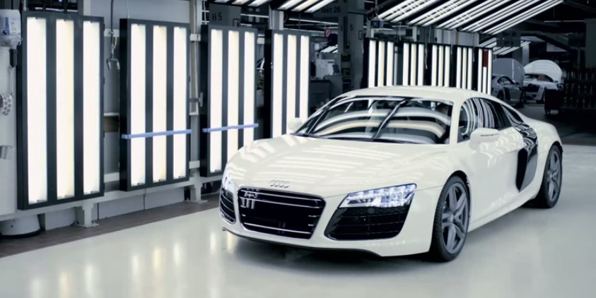How The 2014 Audi R8 Is Made Video