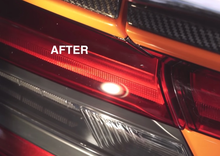 How to fix scratched taillights
