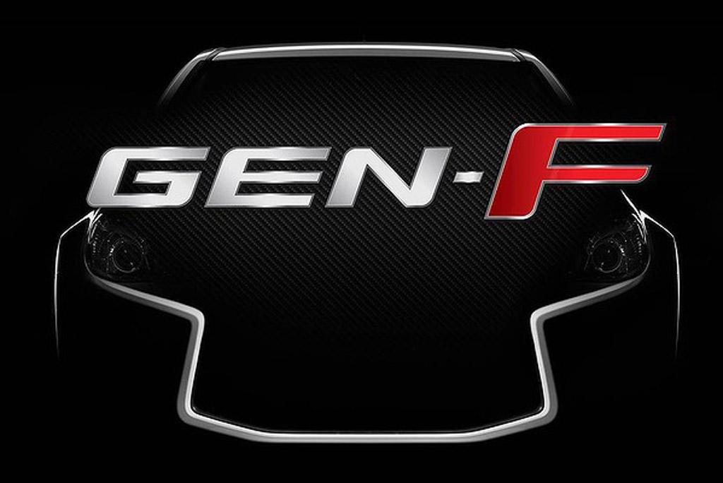 HSV teases new Gen-F range of sports sedans