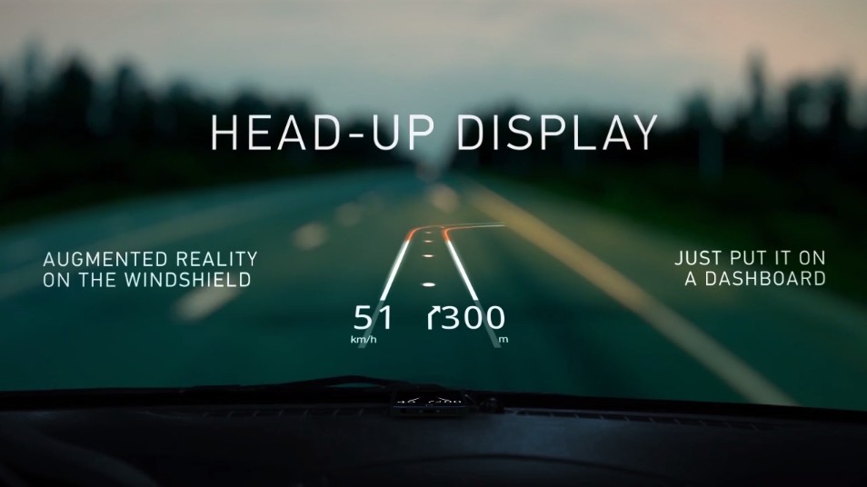 Hudway: The Poor Man's Head-Up Display