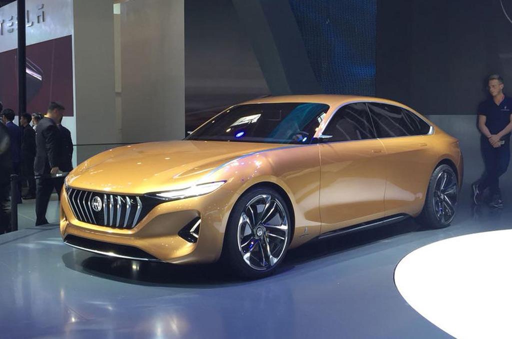Hybrid Kinetic presents Pininfarina-styled K350 SUV and H500 sedan concepts in Beijing