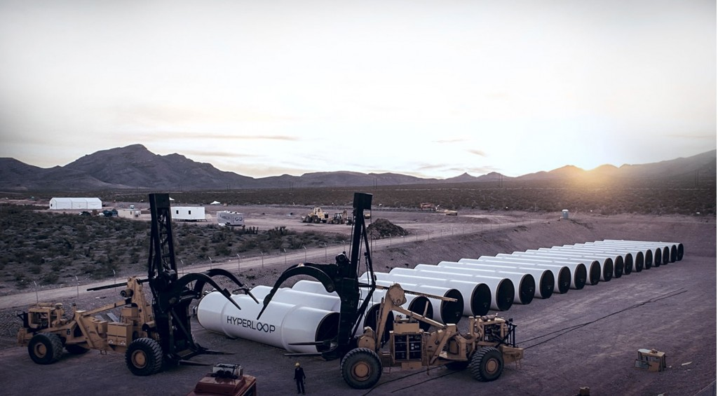 Hyperloop One test site in Nevada