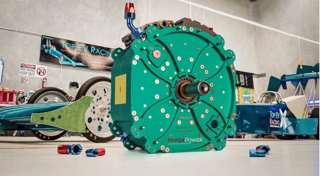 HyperPower QFM-360-X 1,341-horsepower electric motor