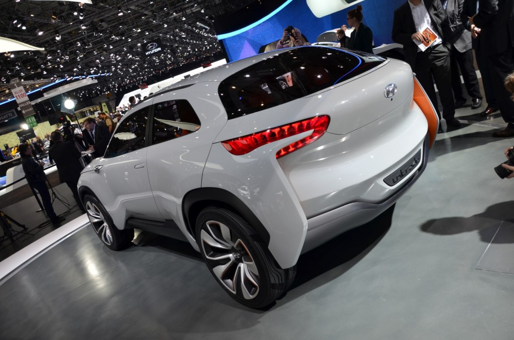 Image hyundai intrado concept 2014 geneva motor show for What does a motor vehicle report show