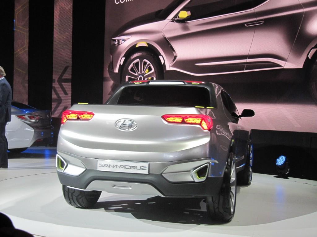 Image: Hyundai Santa Cruz Crossover Truck Concept, 2015 ...