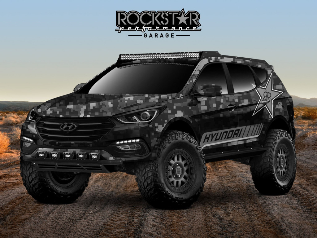 Rockstar Energy Moab Extreme Off-roader Hyundai Santa Fe Sport Concept