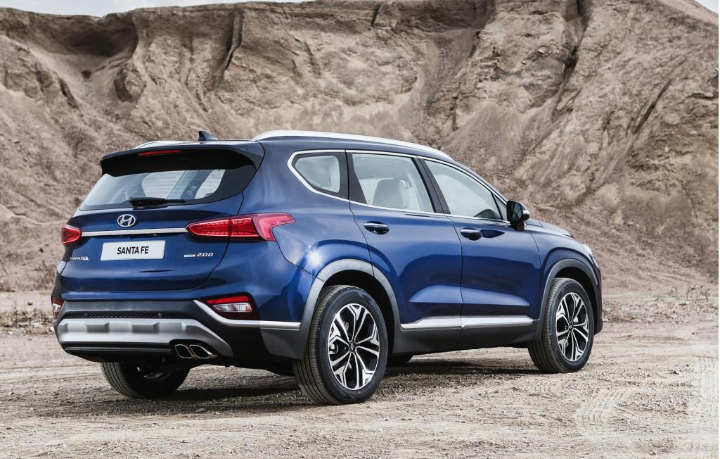 2019 Hyundai Santa Fe emerges with dapper styling