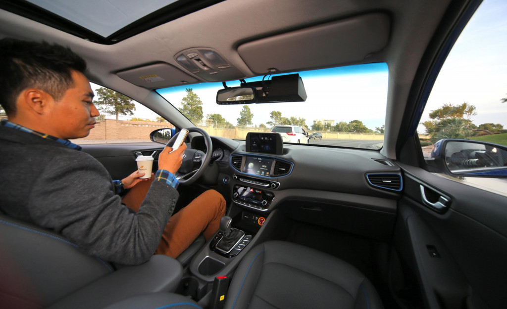 Hyundai self-driving car prototype