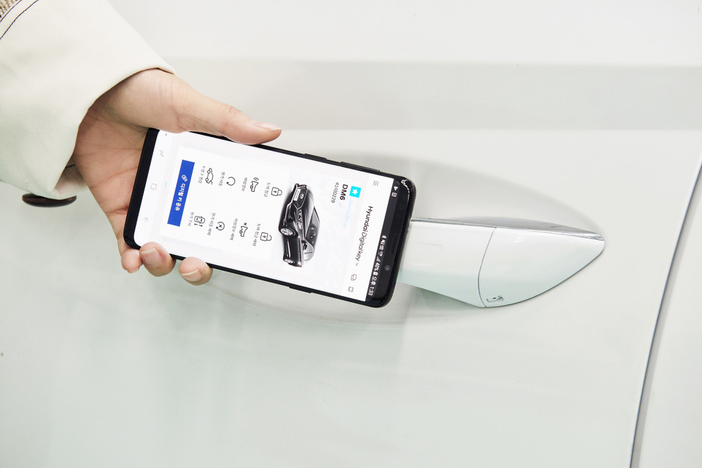 Hyundai's latest app turns a smartphone into your car key