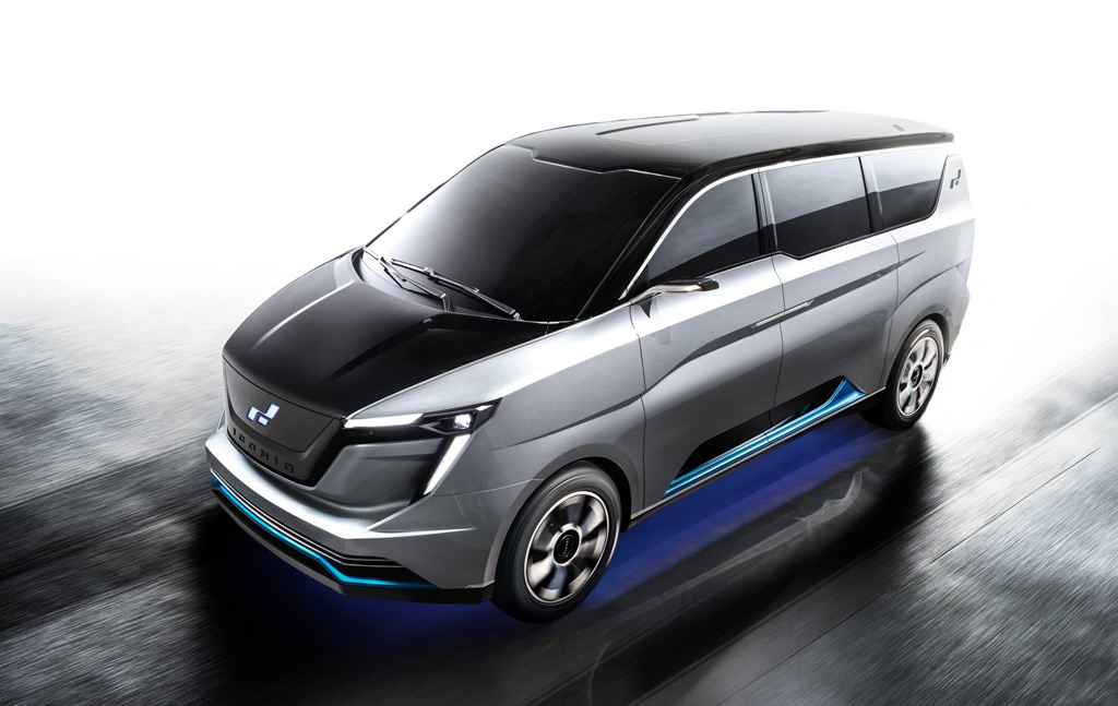 W Motors and Iconiq unveil Seven electric van in Monterey