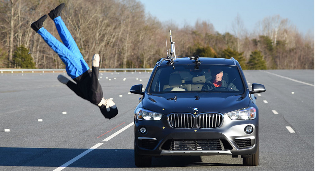 IIHS begins evaluating how effectively cars automatically brake for pedestrians