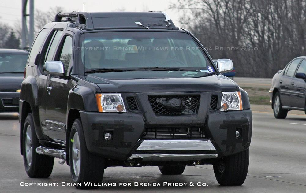 2009 Nissan Xterra Spied