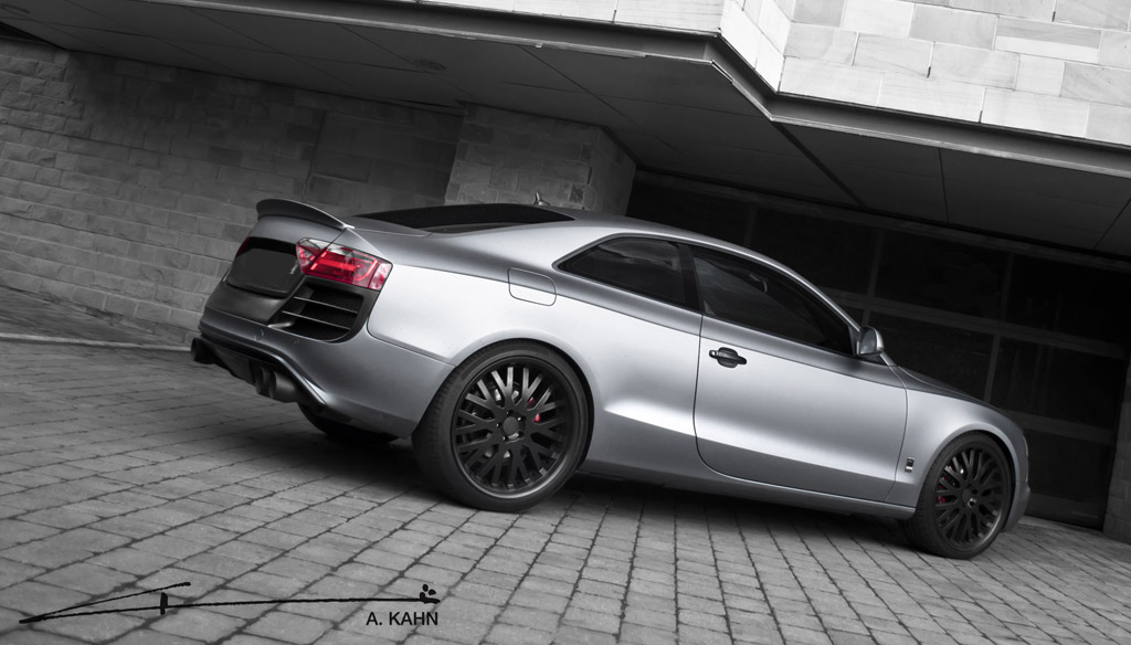 Project Kahn Unveils Bespoke Audi A5 With Luscious Matte