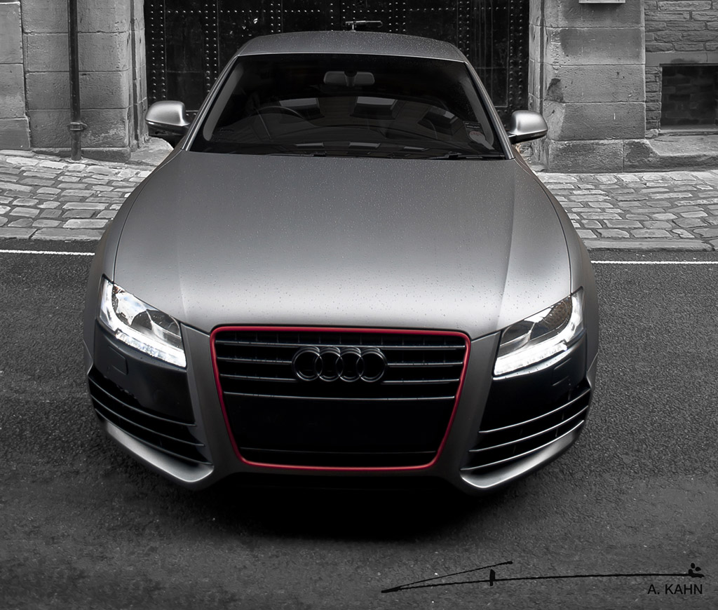 Image Project Kahn Matte Gray Pearl Audi A5 Size 1024 X