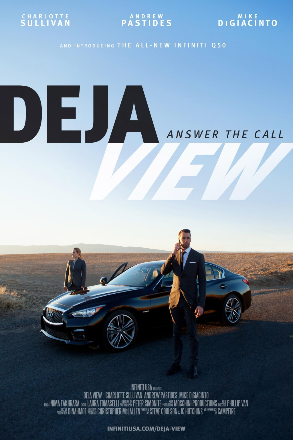 Infiniti and Campfire's Deja-View interactive movie