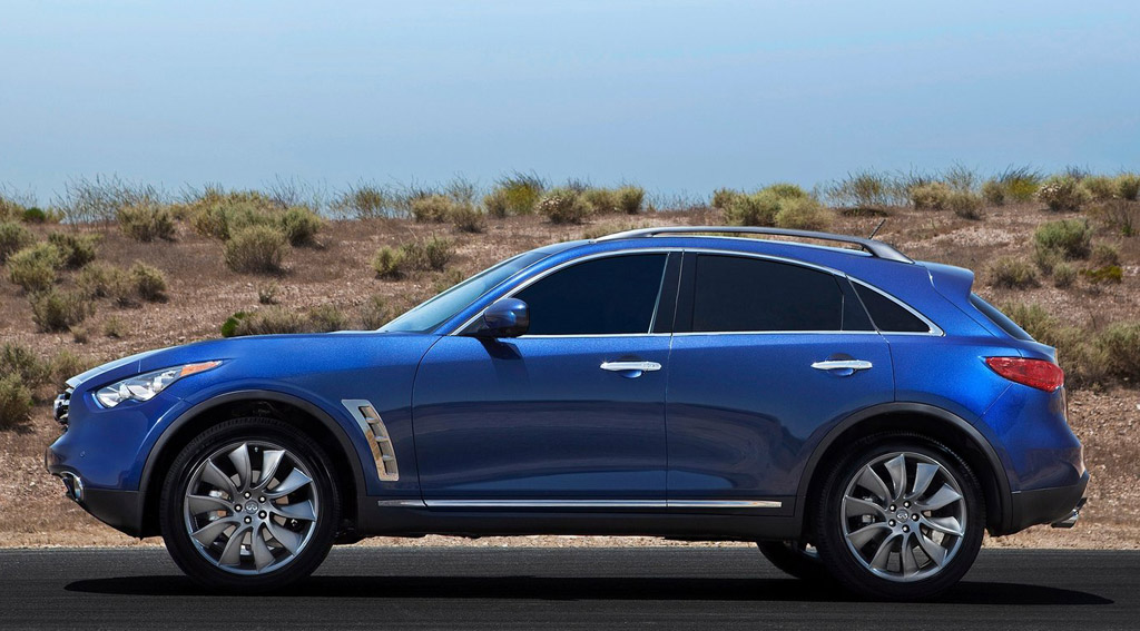 2012 Infiniti FX Gets Updates And A New Model