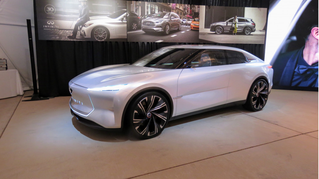 Infiniti QS Inspiration concept - on exhibit October 2019