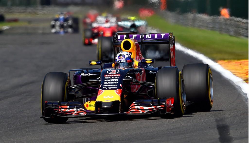 Infiniti Red Bull Racing at the 2015 Formula One Belgian Grand Prix
