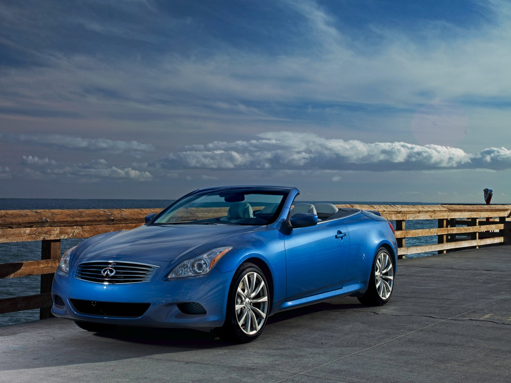 priced 2009 infiniti g37 convertible starts at 43 850. Black Bedroom Furniture Sets. Home Design Ideas