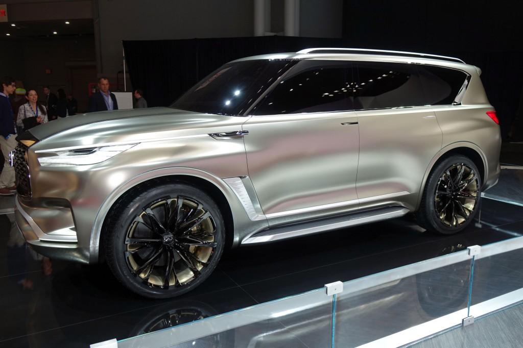 2018 Infiniti QX80 Monograph concept, 2017 New York auto show
