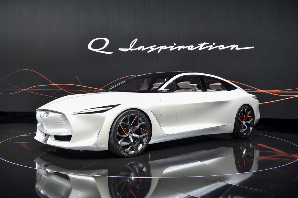 Infiniti Readies Electric Suv Concept For Detroit Auto Show